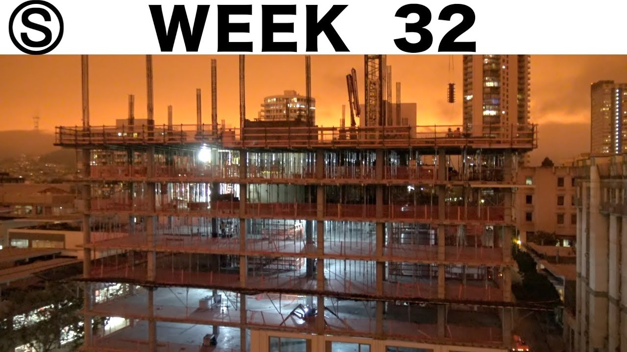 """One-week construction time-lapse w/closeups: Week 32 of the Ⓢ-series: Including """"orange Wednesday"""""""
