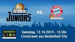 Livestream - ProB Heimspiel der FRAPORT SKYLINERS Juniors gegen FC Bayern Basketball II