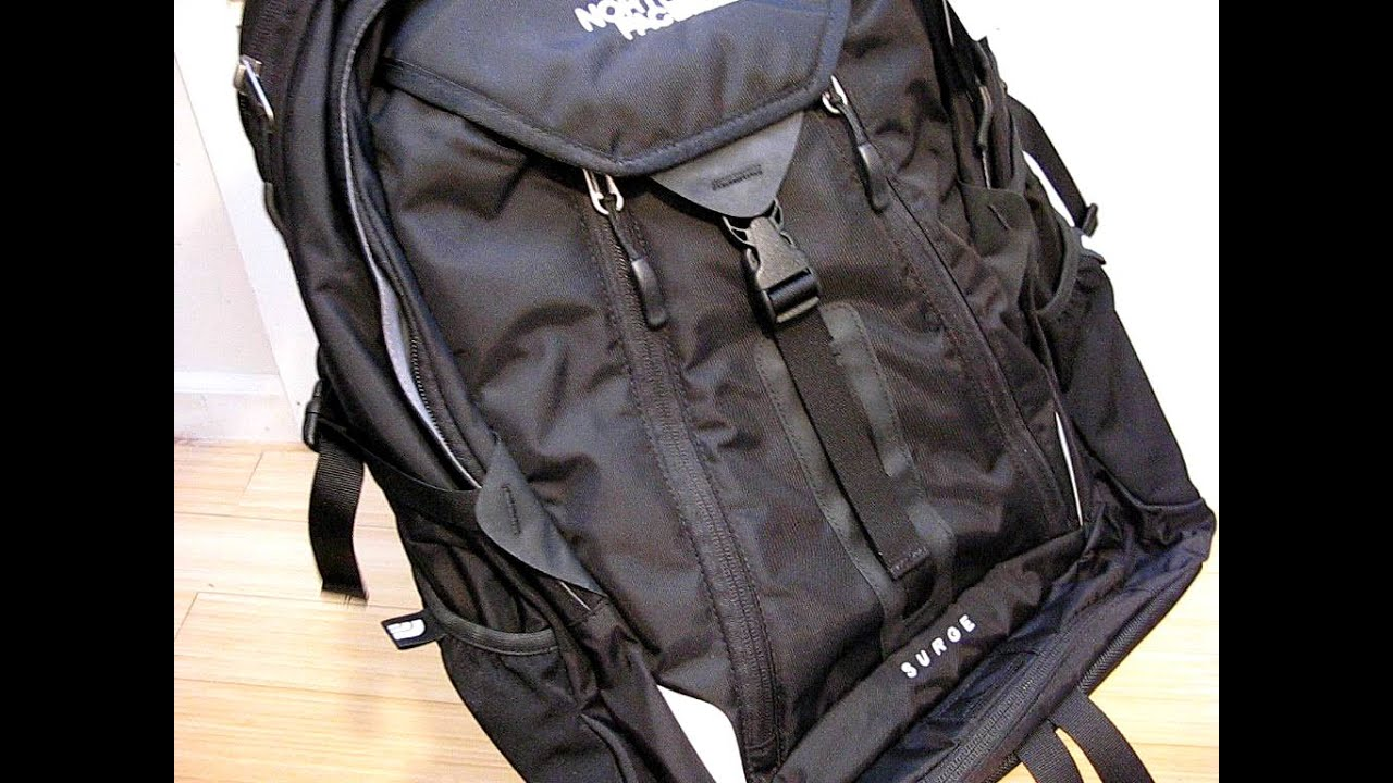 410b5756d301 North Face Surge Backpack Review - YouTube