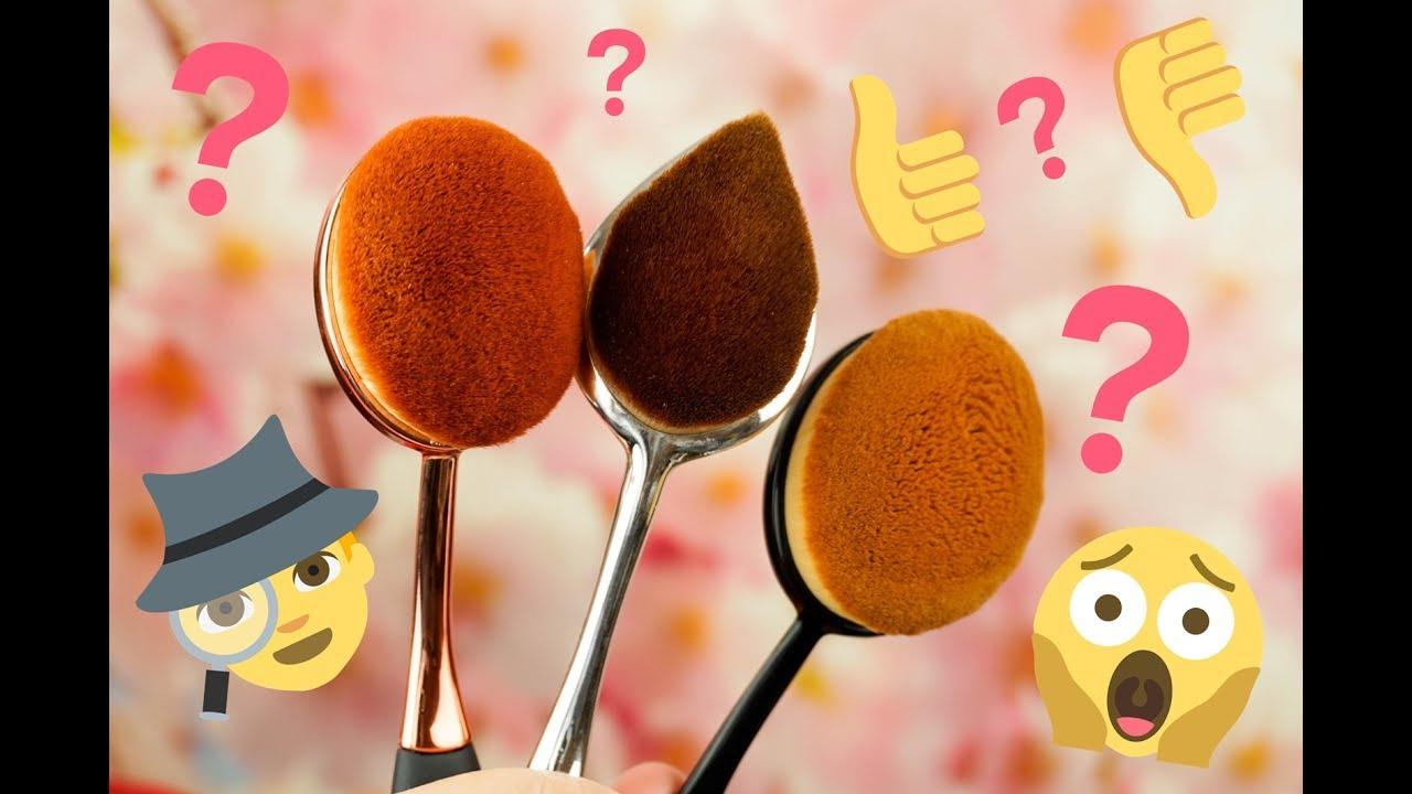 Oval brushes polskie i chińskie  które wybrać