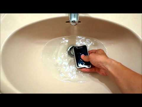 sony ericsson xperia st17i Waterproof test