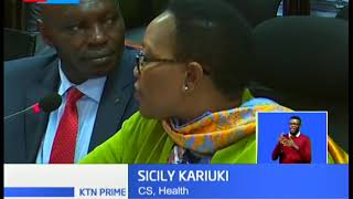 Health CS Sicily Kariuki grilled by senators over MES scandal