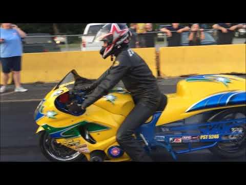 Chris Moore & Chris Edwards Test At Shadyside Dragway