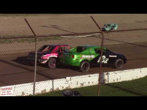 Genesee Speedway Mini Stock Heat Three 5-12-18