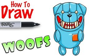 How to Draw Back Bling Woofs | Fortnite
