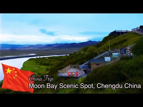 Super Beautiful China - Moon Bay Scenic Spot - My Trip to China Part 1