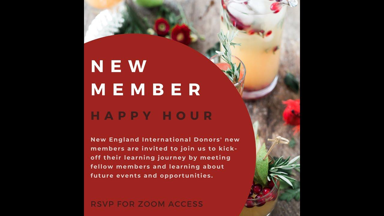 NEID 2021 New Member Happy Hour