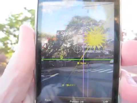 Sun Seeker - Augmented Reality iPhone app