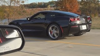 2014 C7 Corvette vs 2014 GT500