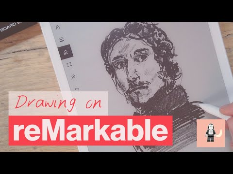 Drawing on the reMarkable paper tablet! - reMarkable 2 and reMarkable 1 for artists