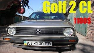 ЗАБЫТЫЙ НА 6 ЛЕТ В ГАРАЖЕ VOLKSWAGEN GOLF 2 CL 1986 ГОДА С ПРОБЕГОМ 250 000 км !