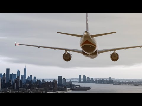 How All Passengers Survived the Miracle on the Hudson | New Flight Simulator 2017 [Ultra Realism]