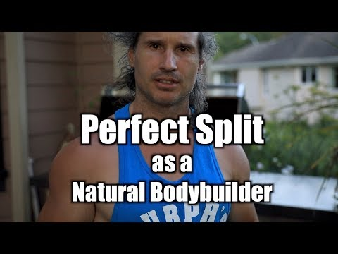 Best Workout Split for a Natural Bodybuilder