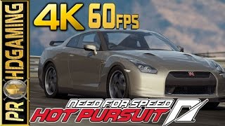 Need for Speed: Hot Pursuit (PC) - 4K 60fps- Nissan GTR (2160p 60fps)