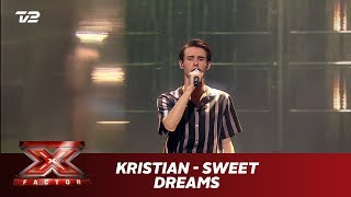 Kristian synger 'Sweet dreams' - The Last Shadow Puppets (Live) | X Factor 2019 | TV 2