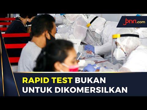 Harga Rapid Test Covid-19 Ditetapkan Rp 150 Ribu