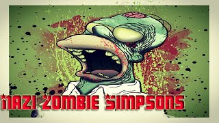 COD: WAW - Custom map - Zombie Simpsons