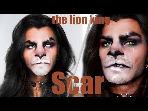 THE LION KING - SCAR MAKEUP TRANSFORMATION!