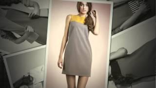 Robe bicolore et veste sans boutons - Mademoiselle Grenade