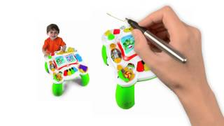 Leapfrog learn & groove musical table - activity table