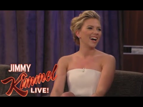 Scarlett Johansson on Jimmy Kimell