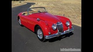 1960 Jaguar XK150 S OTS Roadster Drive