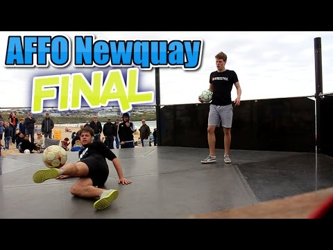 Atlantic Freestyle Football Final 2017   Conor Reynolds v Jesse Marlet