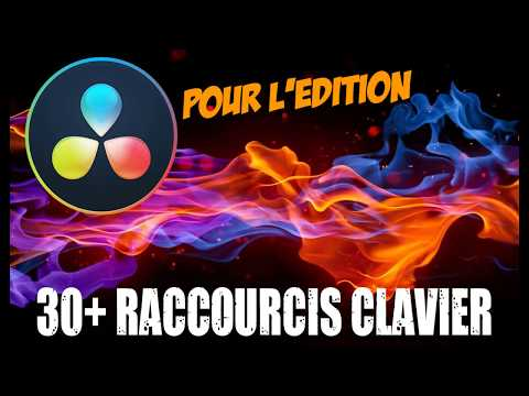 30+ Raccourcis Pour BOOSTER L'édition Dans DAVINCI RESOLVE 16 ! PDF Gratuit