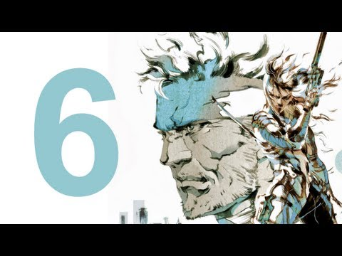 MGS 2 HD Collection - Walkthrough - Part 6 (No Commentary)