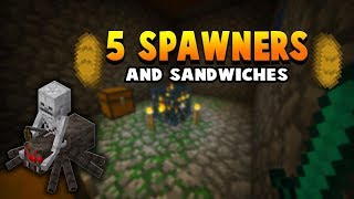 5 Different Mob Spawners AT SPAWN???