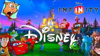 дисней мультфильмы для детей на Русском языке - Компьютерные Игры мультики Disney Infinity 1.0