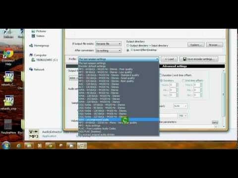 Download And Use Pazera Audio Extractor/Converter