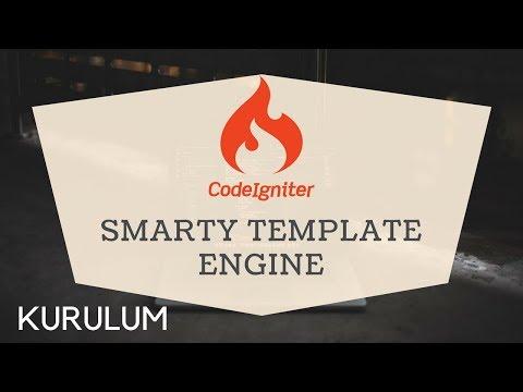 Codeigniter ile Smarty Template Engine Kullanımı