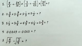 Simplification - RRB Group D Previous year Question paper thumbnail