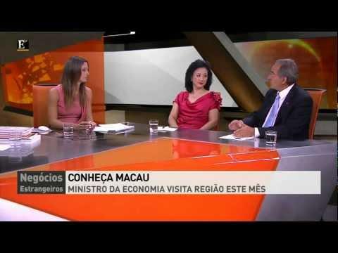 Conheça Macau - Económico TV Programa Negócios Estrangeiros (completo)