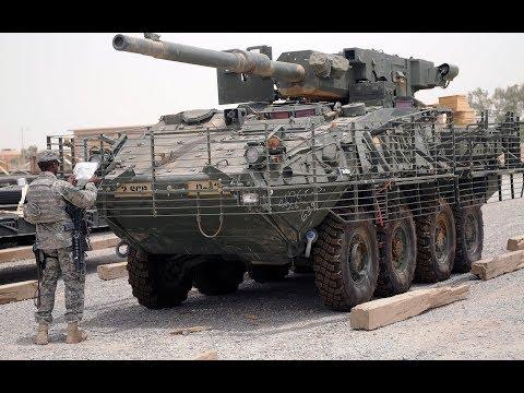 Боевая машина MGS M1128 Страйкер