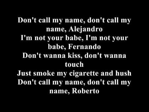 Helia - Alejandro (cover with lyrics)