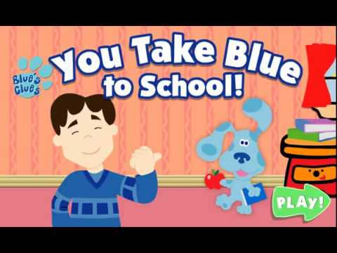 Blue's Clues-Goes To School Game Treehouse - YouTube