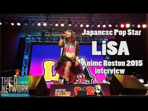 Anime Boston 2015 LiSA  3 question interview