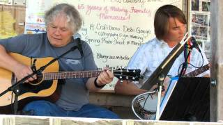 "Ron Ireland & Sam Gleaves play ""Uncloudy Day"" on the Front Porch at Big Walker Lookout"