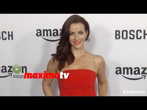 Annie Wersching  BOSCH Premiere  Red Carpet  Exclusive