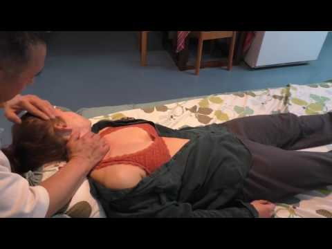 luodong girl thyroid massage+head massage asmr