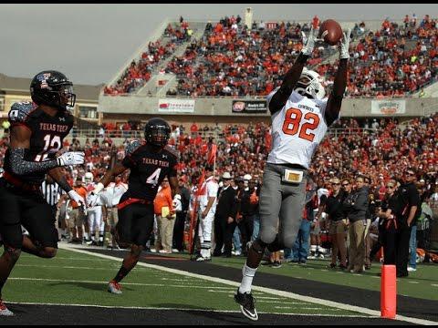 Oklahoma State at Texas Tech football 2011