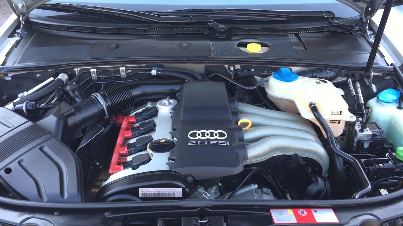 Audi A4 2 0 Fsi Automatik Youtube