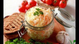 ЗИМОЙ ОБЛИЖЕШЬ ПАЛЬЧИКИ! Маринованная капуста БЫСТРАЯ.Вкусный салат на праздничный стол.