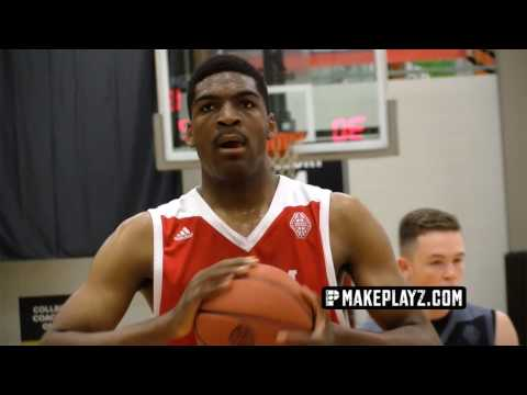 UNC Commit Brandon Huffman is a BEAST in the Paint! Summer Highlights!