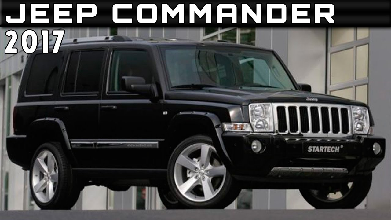 2017 Jeep Commander Review Rendered Price Specs Release ...
