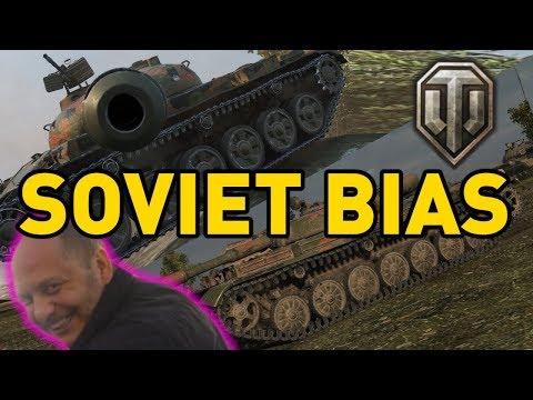 Soviet Bias in World of Tanks...
