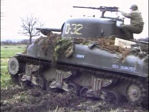 Le char M4 Sherman - blindé de la 2ème guerre mondiale