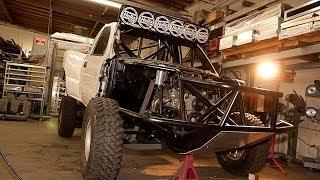 2002 Chevrolet Silverado Prerunner Ultimate Off Road Truck Build Project